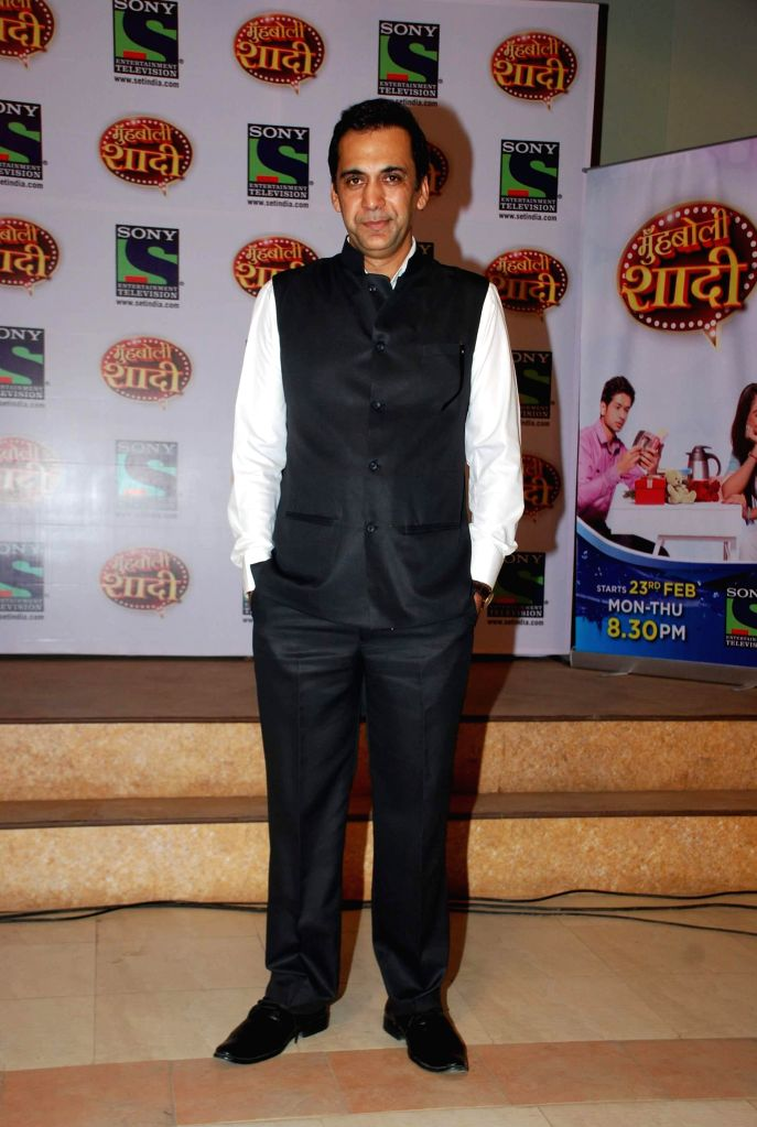 Television actor Bobby Parvez during the launch of Sony TV upcoming show `Muh Boli Shaadi` in Mumbai on Feb 19, 2015. - Bobby Parvez