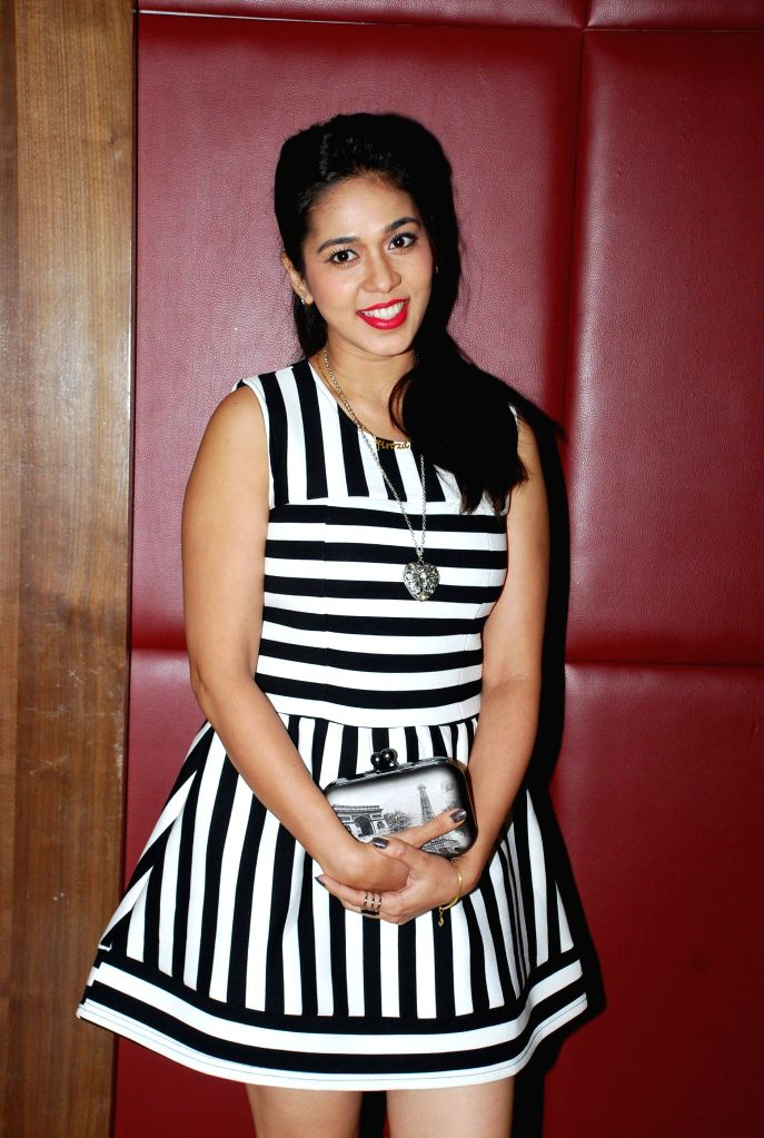 "Television actor Firoza Khan during the launch of music album ""Kamasutra"" in Mumbai, on Jan. 15, 2015. - Firoza Khan"