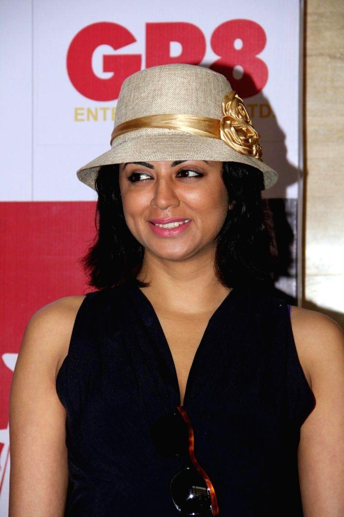 Television actor Kavita Kaushik during the charity event, Be with Beti, to celebrate International Women`s Day, in Mumbai, on March 8, 2015. - Kavita Kaushik