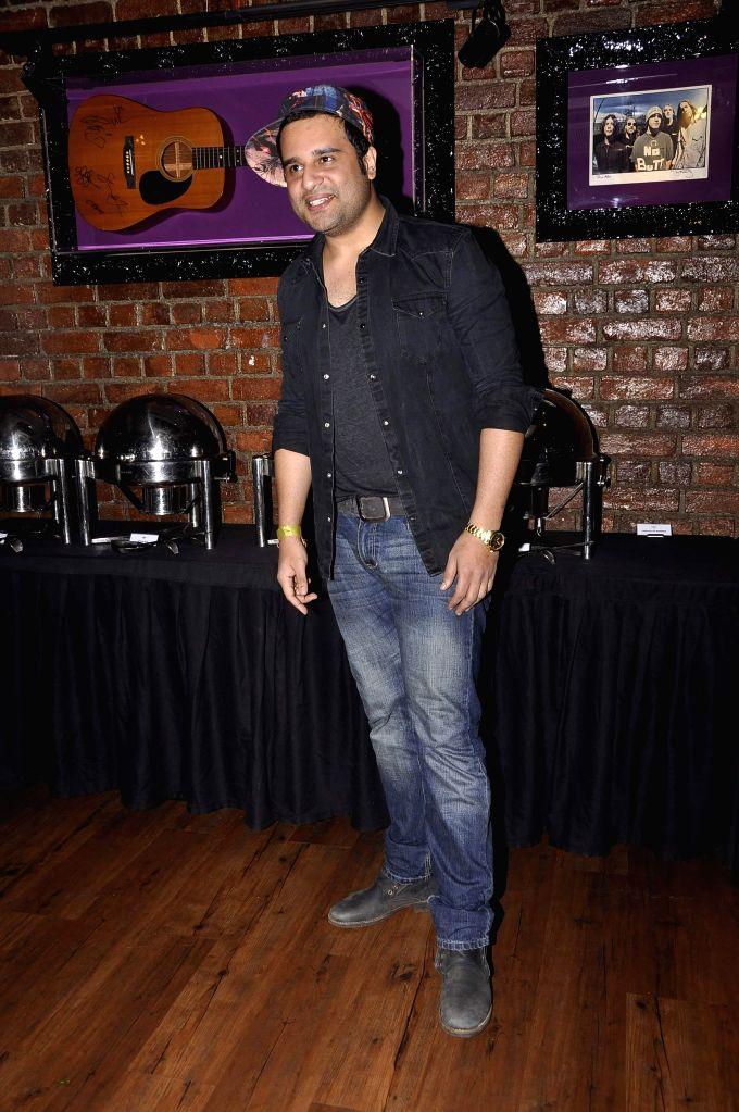 Television actor Krishna Abhishek during the promo and jersey launch of Box Cricket League`s (BCL) Ahmedabad Express team in Mumbai, on November 16, 2014. - Krishna Abhishek