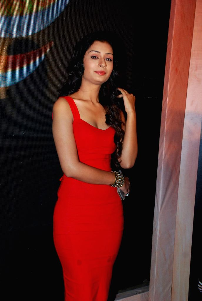 Television actor Payal Rajput during the launch of Life Ok new serial Mahakumbh in Mumbai, on Dec 5, 2014. - Payal Rajput