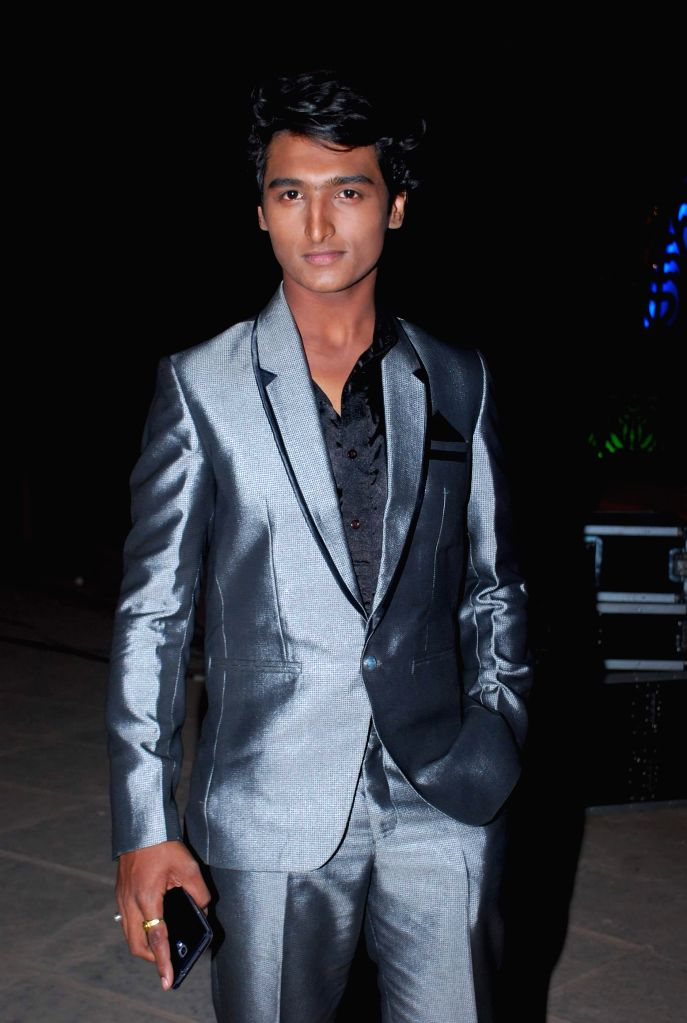 Television actor Rushiraj Pawar during the launch of Life Ok new serial Mahakumbh in Mumbai, on Dec 5, 2014. - Rushiraj Pawar