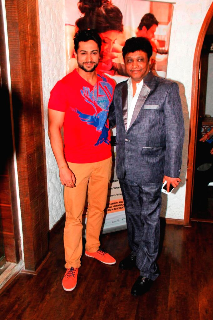 Television actor Shaleen Bhanot and Manek Soni, Head of Charisma Spa during the Charisma Spa celebration of spas success spearheaded in Mumbai, on March 16, 2015. - Shaleen Bhanot