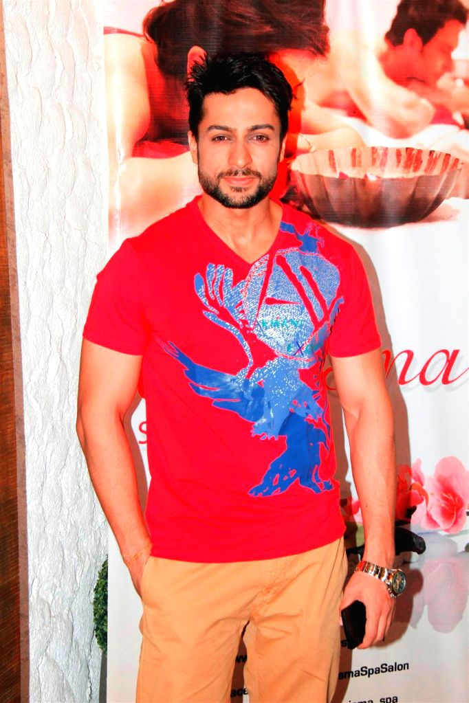 Television actor Shaleen Bhanot during the Charisma Spa celebration of spas success spearheaded in Mumbai, on March 16, 2015. - Shaleen Bhanot