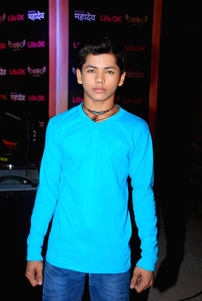Television actor Siddharth Nigam during the launch of Life Ok new serial Mahakumbh in Mumbai, on Dec 5, 2014. - Siddharth Nigam