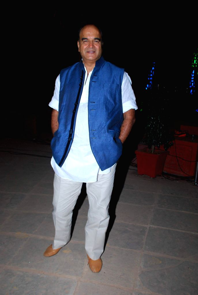 Television actor Surendra Pal Singh during the launch of Life Ok new serial Mahakumbh in Mumbai, on Dec 5, 2014. - Surendra Pal Singh
