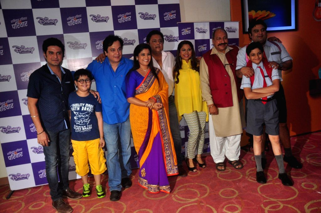 Television actors Harsh Vashisht, Shubh Kalra, Mahesh Thakur, Renuka Shahane, Nitesh Pandey, Maninee Mishra, Sudhir Pandey, Namit Shah and Ashwin Kaushal, during the launch of Disney ... - Harsh Vashisht, Shubh Kalra, Mahesh Thakur, Renuka Shahane, Nitesh Pandey, Maninee Mishra, Sudhir Pandey, Namit Shah and Ashwin Kaushal