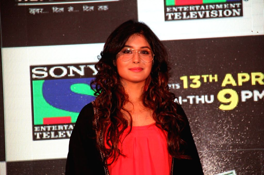 Television actress Kirtika Kamra during the launch of Sony TV`s new serial Reporters in Mumbai on April 9, 2015. - Kirtika Kamra