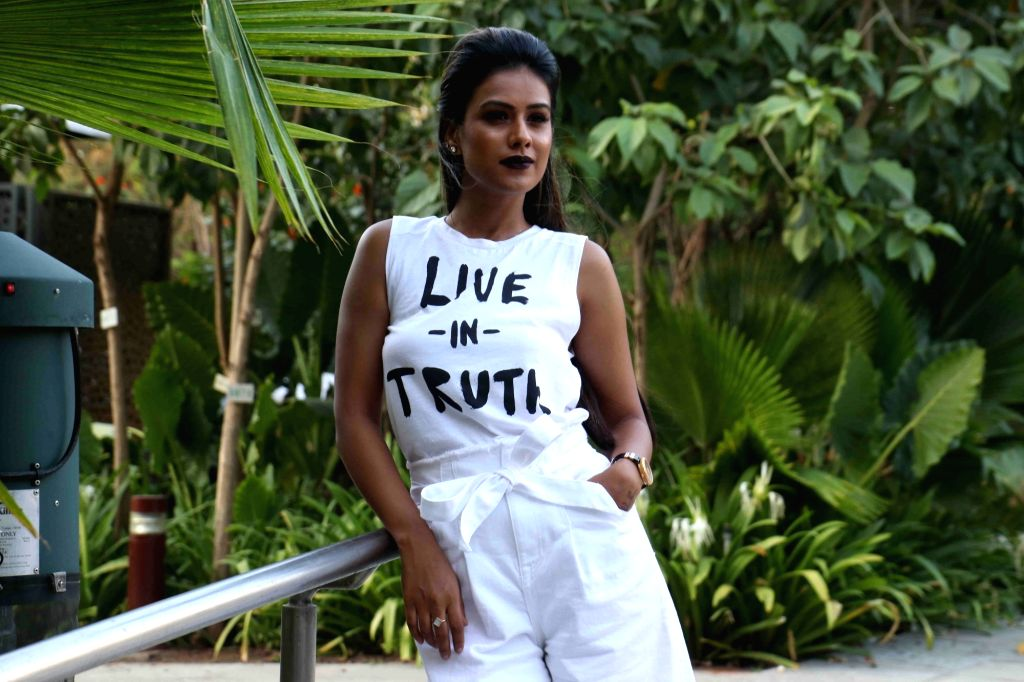 Mumbai: Television actress Nia Sharma during the launch of Colors TV show Khatron Ke Khiladi Season 8 in Mumbai on May 9, 2017. (Photo: IANS) - Nia Sharma