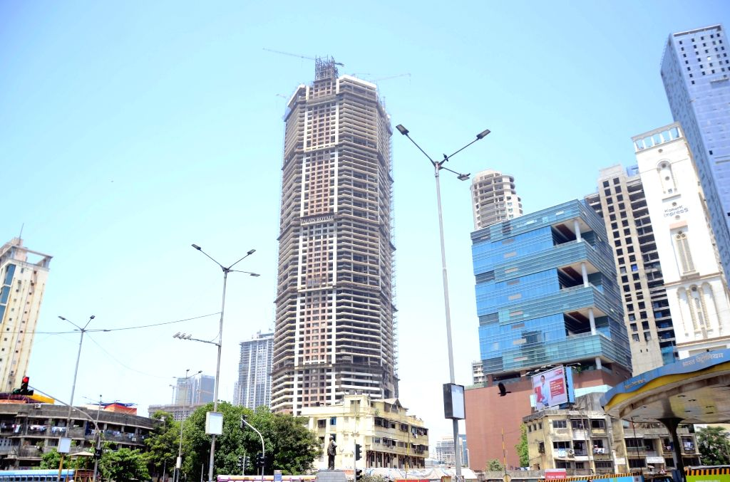Mumbai: The iconic 'Palais Royale' building at Worli Naka in Mumbai, on May 4, 2019. In a major development, Indiabulls Housing Finance Ltd (IHFL) has decided to auction the Palais Royale building to recover dues worth a whopping Rs 971 crore from th