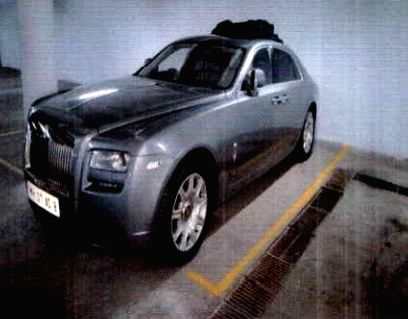 Mumbai: The silver Rolls Royce, one of the thirteen luxury cars owned by fugitive diamantaires Nirav Modi and his uncle Mehul Choksi that went on online auction by the Metals and Scrap Trading Corporation, in Mumbai on March 25, 2019. (Photo: IANS) - Nirav Modi