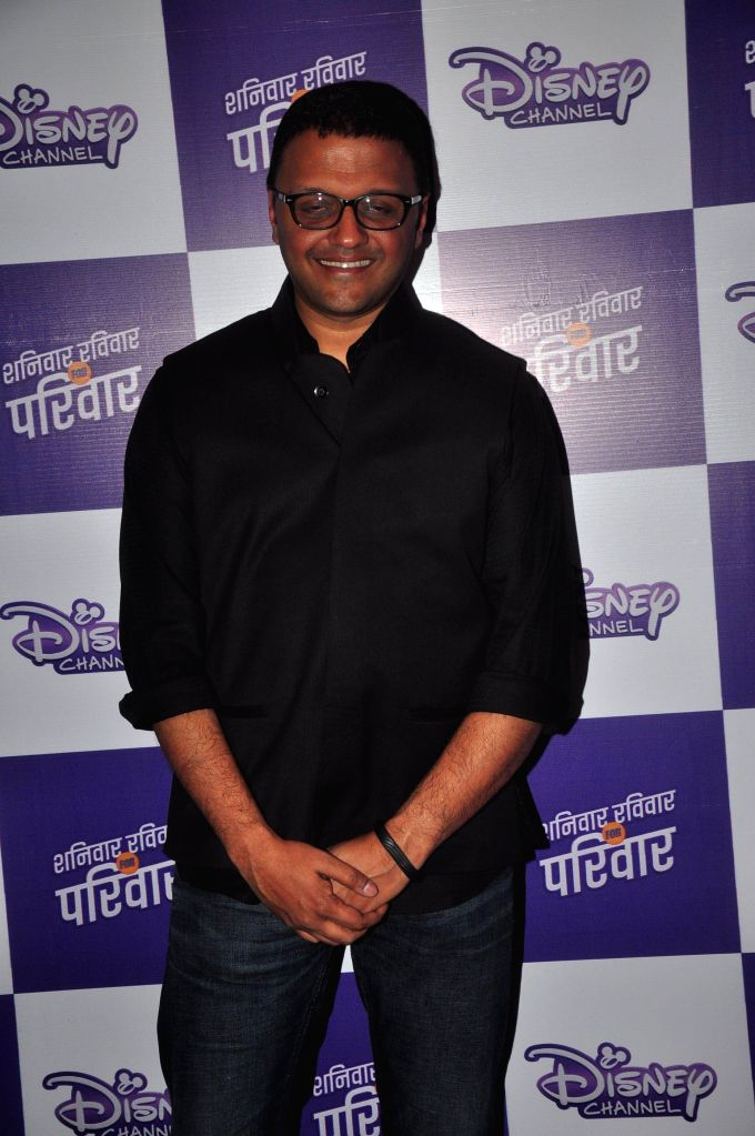 Vijay Subramaniam, VP Content & Communications - Media Networks, Disney India, during the launch of Disney Channel's new shows, in Mumbai, on Jan. 22, 2015.