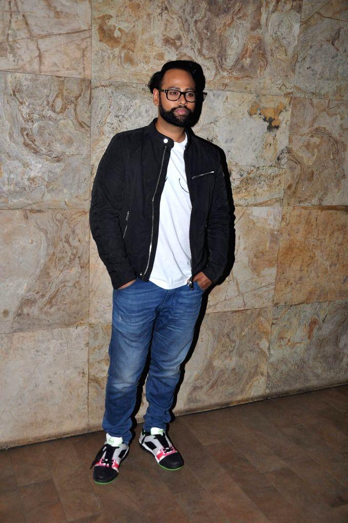 VJ Andy during the screening of film Big Eyes at Lightbox in Mumbai on Dec 30, 2014.