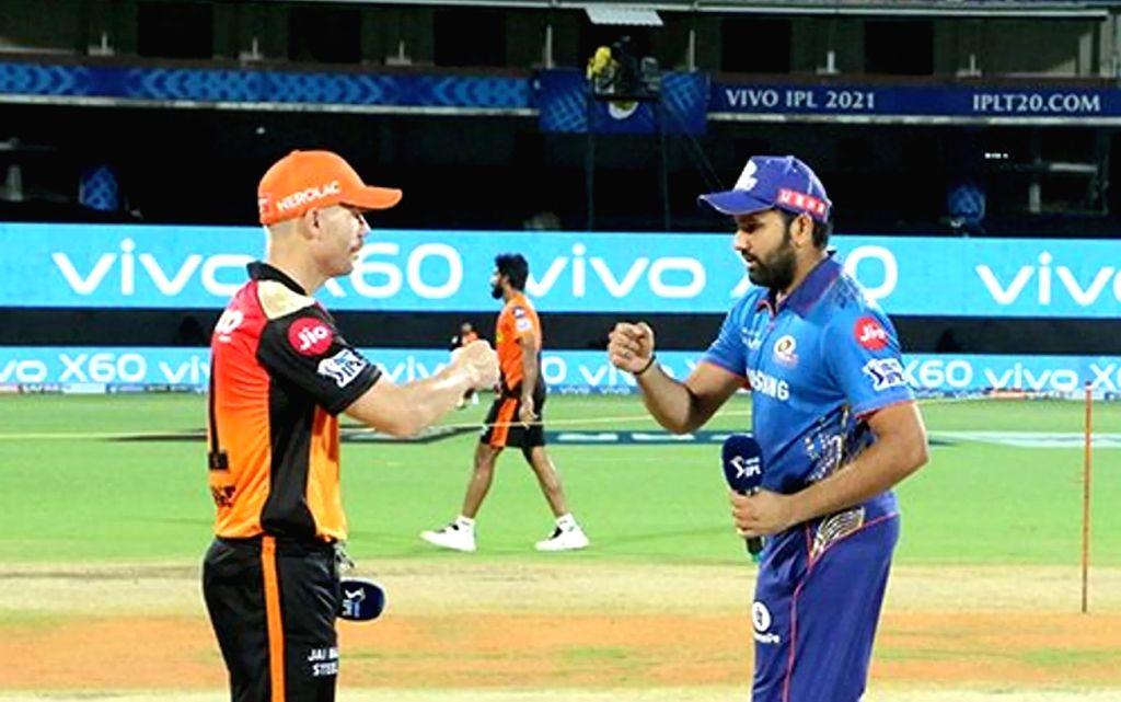 Mumbai vs Sunrisers Hyderabad. (Credit : BCCI/IPL)