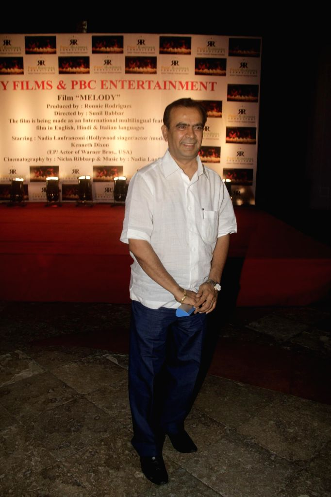Yogesh Lakhani during the launch of film Melody in Mumbai, on November 20, 2014.