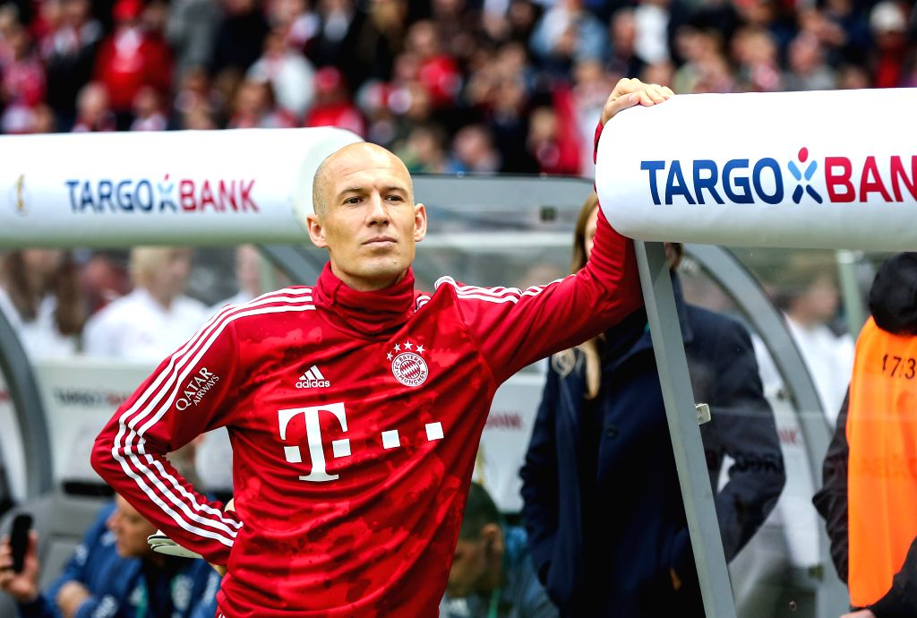 Munich, April 27 (IANS) Former Netherlands and Bayern Munich winger Arjen Robben has expressed his desire to come out of retirement and 'play a little again' just one year after calling time on his illustrious career. (Xinhua/Shan Yuqi/IANS)