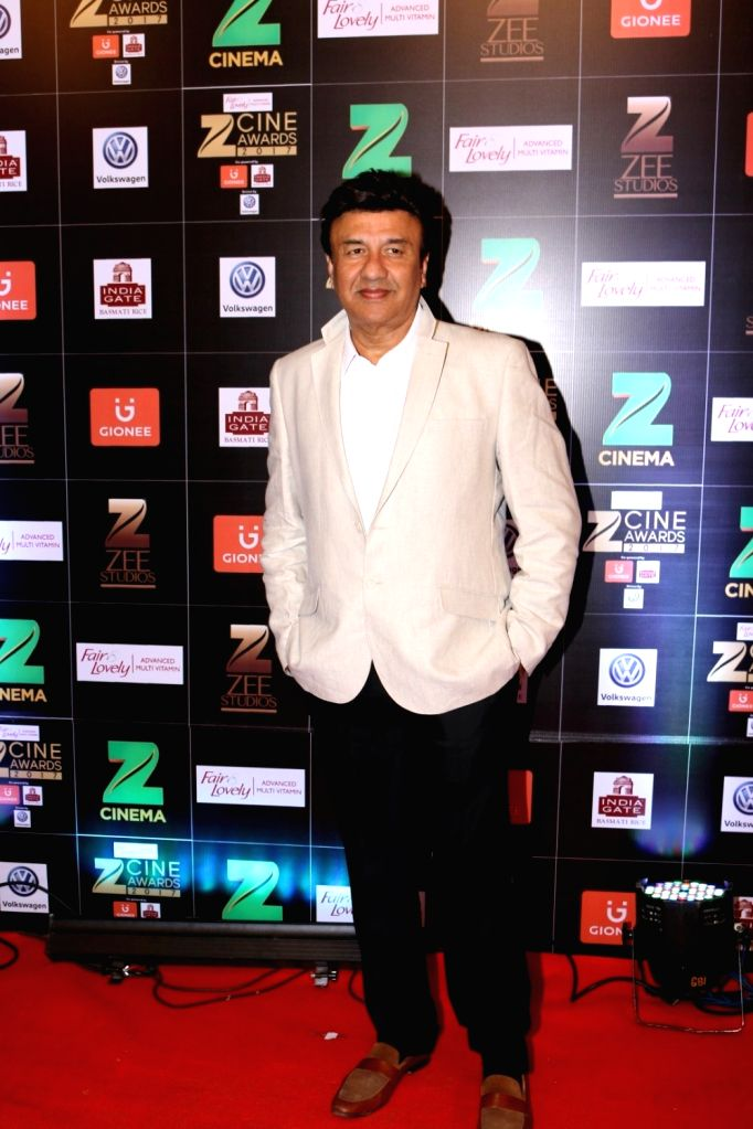Music composer Anu Malik during the Fair & Lovely Zee Cine Awards 2017 in Mumbai on March 11, 2017. - Malik