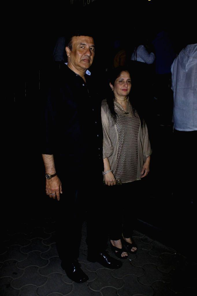 Music composer Anu Malik during the screening of film Tubelight, in Mumbai, on June 22, 2017. - Malik