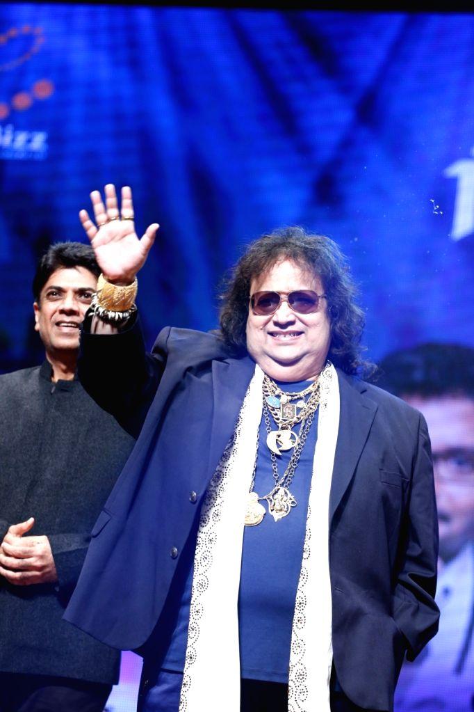 "Music Composer Bappi Lahiri during the musical concert  ""Rehmatein 3"" in Mumbai."