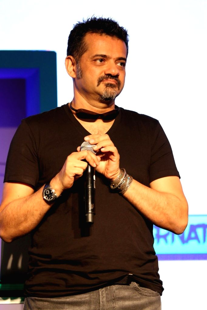 Music composer Ehsaan Noorani during the launch of Tata Sky new service with four music genres on a Pay TV platform, named `Music+` in partnership with digital entertainment company Hungama ...
