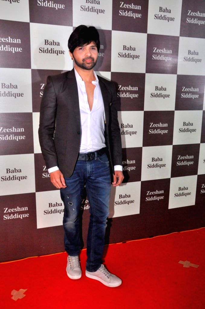 Music composer Himesh Reshammiya during Congress leader Baba Siddique`s Iftar party, in Mumbai, on June 24, 2017.