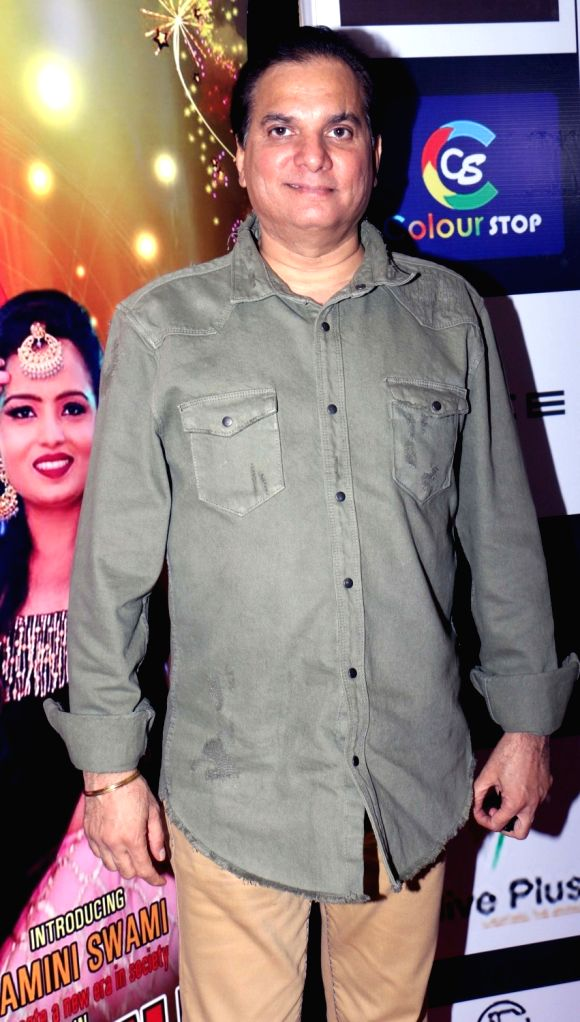 Music composer Lalit Pandit at the finale of Mrs./ Miss/Mr. Bharat Icon 2019, in Mumbai on Sep 29, 2019.
