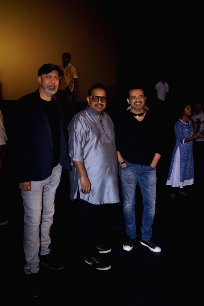 "Music composers Shankar Mahadevan, Ehsaan Noorani and Loy Mendonsa at the trailer launch of upcoming film ""Manikarnika: The Queen of Jhansi"" in Mumbai on Dec 18, 2018."
