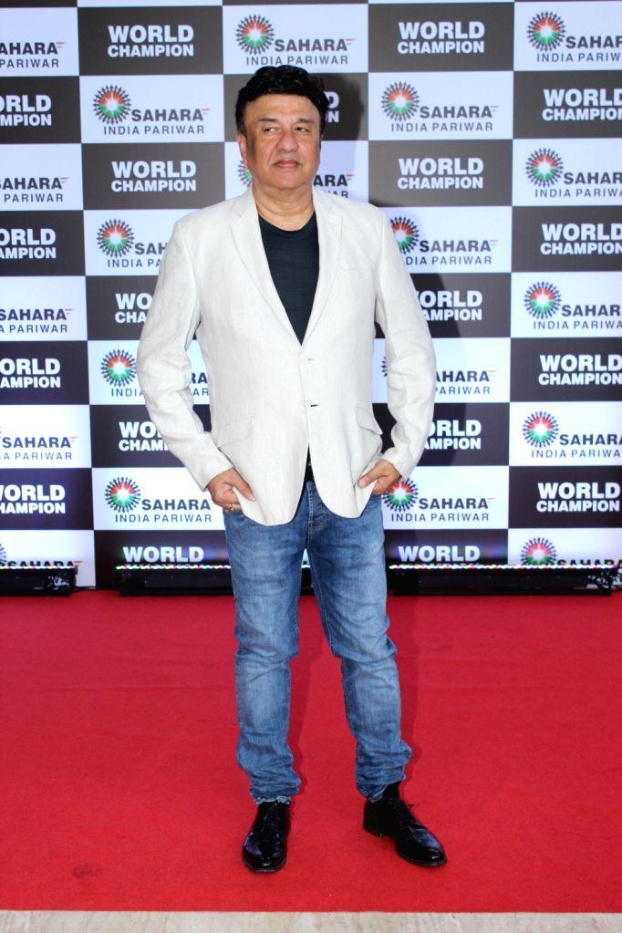Music Director Anu Malik at PV Sindhu's felicitation ceremony organised by Sahara Group in Mumbai on Sep 8, 2019. - Malik