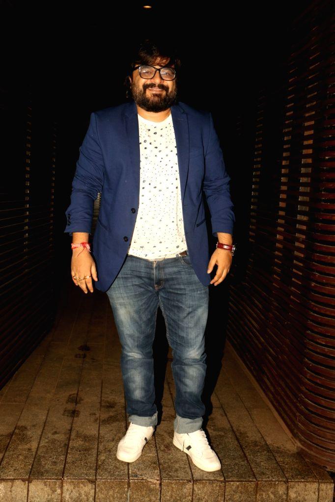 Music director Pritam Chakraborty at Estella Lounge in Mumbai on Oct 10, 2017. - Pritam Chakraborty