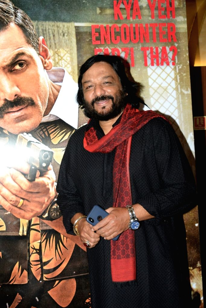 """Music Director Roop Kumar Rathod at the screening of the film """"Batla House"""" hosted by him at PVR Juhu, in Mumbai on Aug 15, 2019. - Roop Kumar Rathod"""