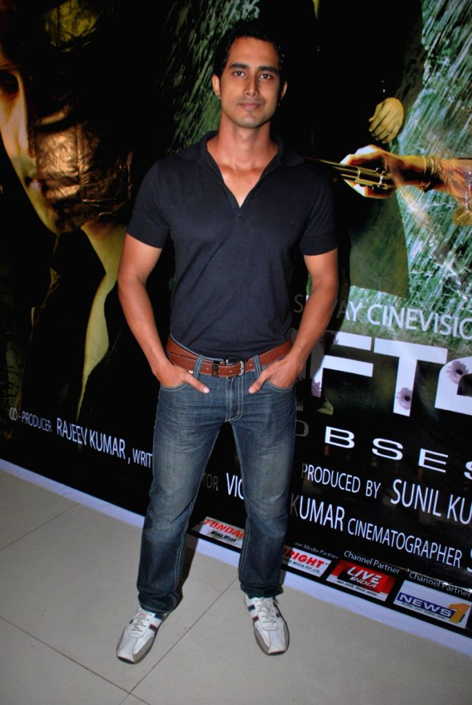 Music launch of the film 'Raftaar' at the Renaissance Club, in Mumbai.