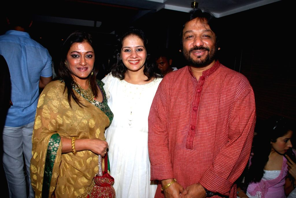 Music singer and composer Roop Kumar Rathod with and his wife with beauty & wellness industry entrepreneur Kiran Bawa at an event orgaisned by her.