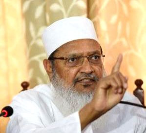 Muslim cleric Maulana Wali Rahmani