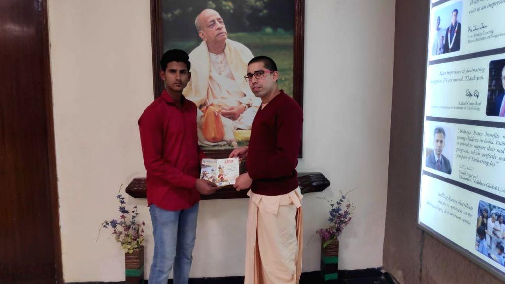 Muslim teen wins Bhagwad Gita quiz in Jaipur.