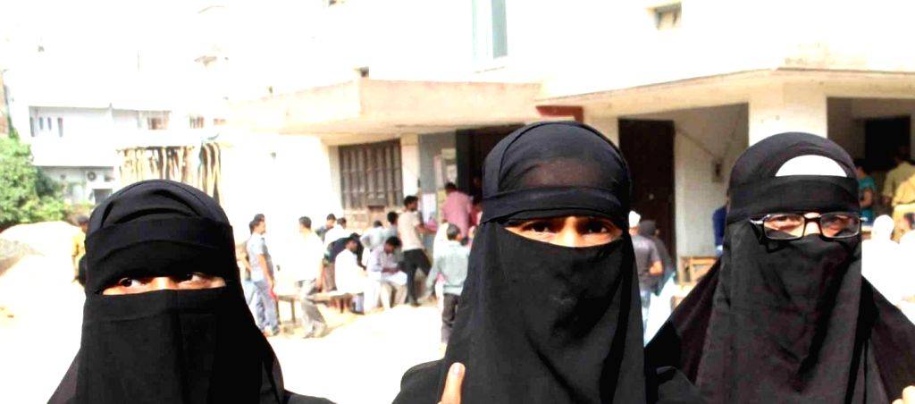 Muslim women in Burkha. (File Photo: IANS)