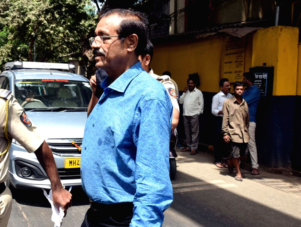 Mustafa Dossa, one of the accused in the 1993 Mumbai serial blasts case, being taken to be produced before a Mumbai court on May 29, 2017.