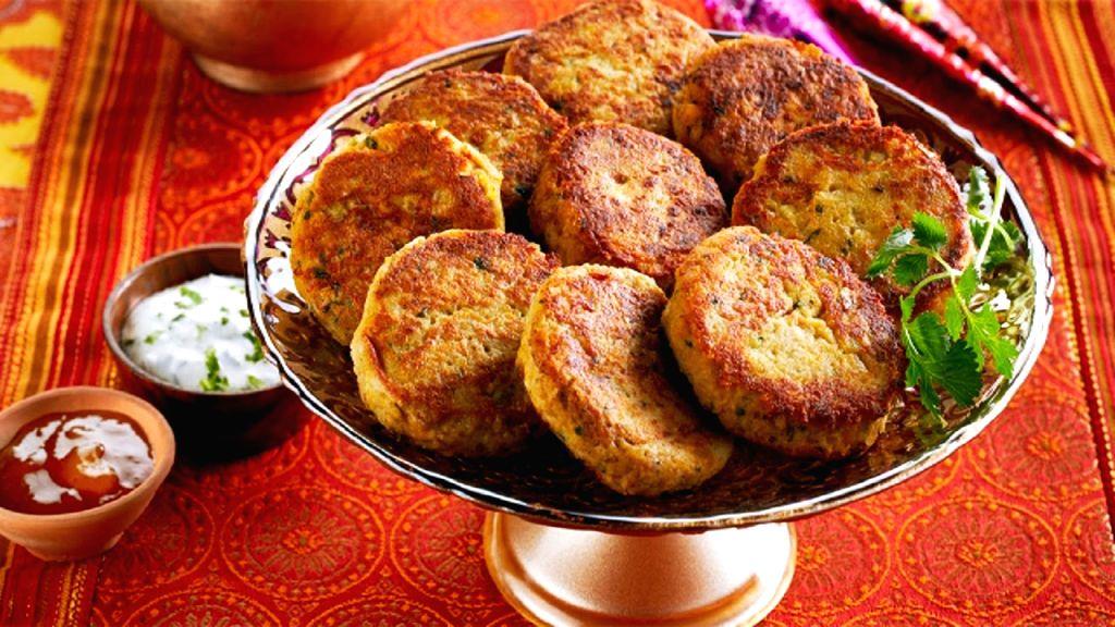 Mutton Shami Kebab.