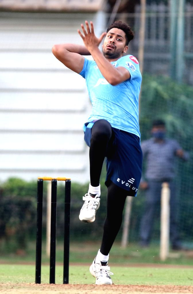 My dream of taking MS Dhoni's wicket has been finally fulfilled, says Avesh Khan.(photo:Not for sale) - Avesh Khan