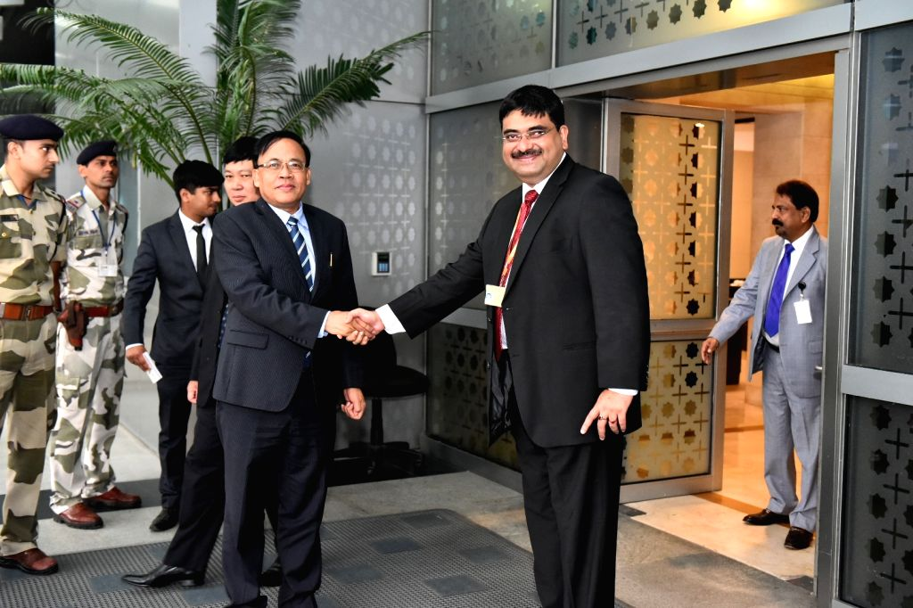 Myanmar Union International Cooperation Minister Kyaw Tin arrives in New Delhi, on July 19, 2018. - Kyaw Tin