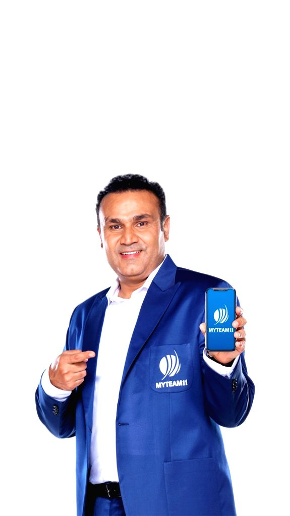 MyTeam11 Brand Ambassador and former India opener Virender Sehwag. MyTeam11, one of India???s leading fantasy sports platforms, was announced as the title sponsors of the upcoming tour of the Indian ...