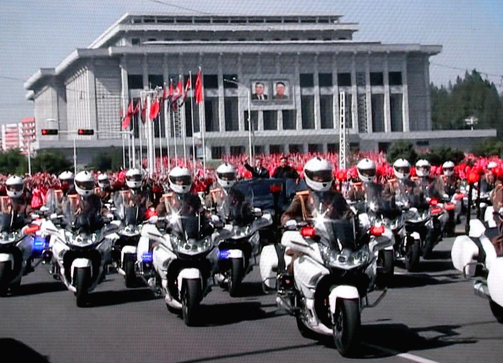 N.Korea preparing military parade for ruling party anniversary