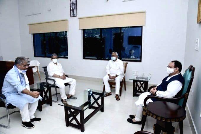 Nadda kickstarts poll campaign in Bihar, promotes 'vocal for local