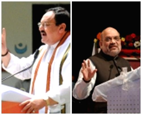 Nadda, Shah hold meeting over Manipur polls, discuss strategy.