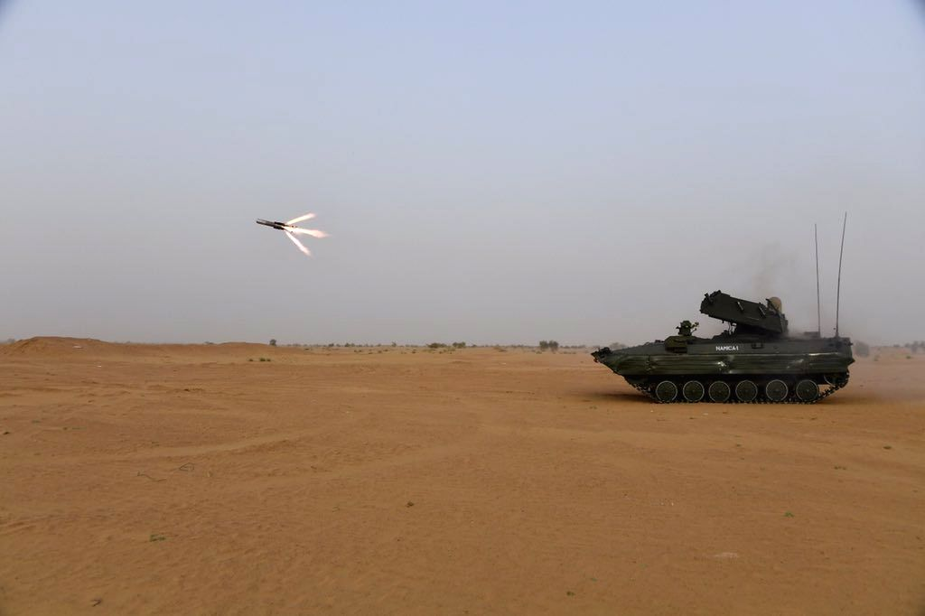NAG, the DRDO's ingenuously developed 3rd Generation Anti-Tank Guided Missile (ATGM) successfully underwent a series of summer trials at Pokhran Field Firing Ranges carried out by the Indian ...