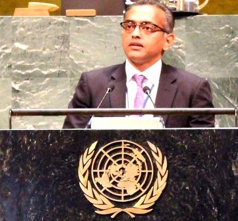 Nagaraj Naidu, India's Deputy Permanent Representative to the United Nations. (Photo: India Mission/IANS) - Nagaraj Naidu