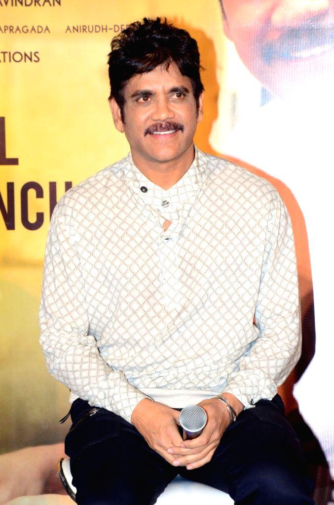 Nagarujuna acted Manmdhudu2 Movie Trailer Launch.