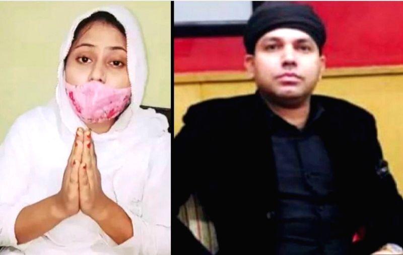 Nagma and Chaudhary Bashir. - Nagma