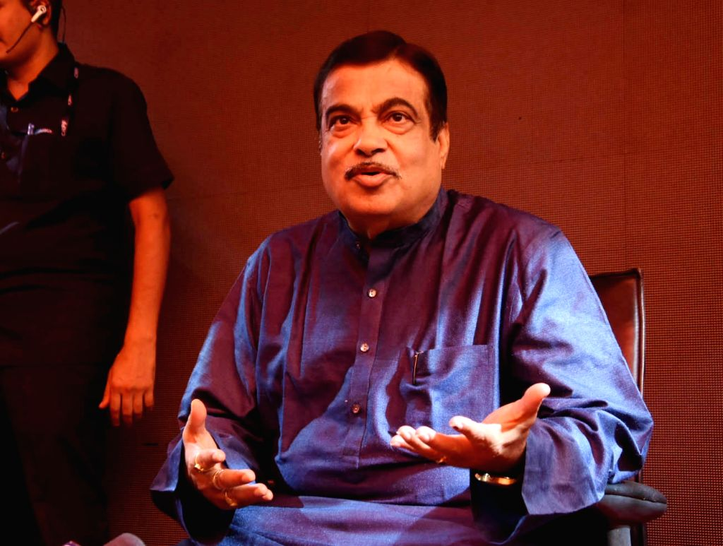 Nagpur: Union Minister Nitin Gadkari addresses a press conference, in Nagpur, on May 23, 2019. (Photo: IANS) - Nitin Gadkari