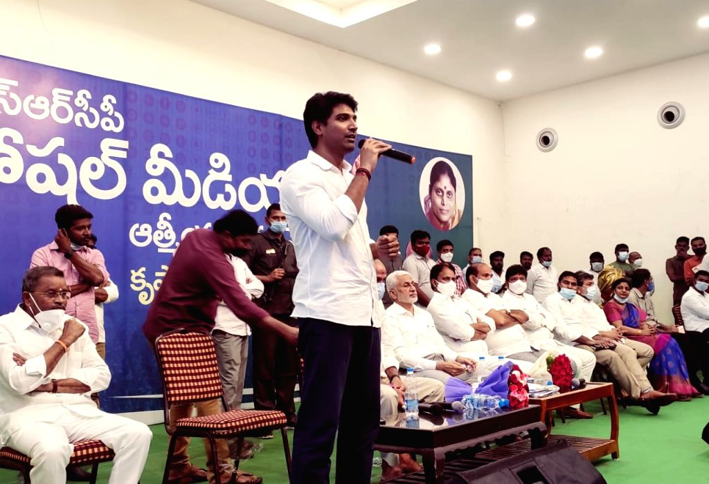 Naidu, TDP may fall into oblivion: YSRCP MP Vijaysai Reddy - Vijaysai Reddy