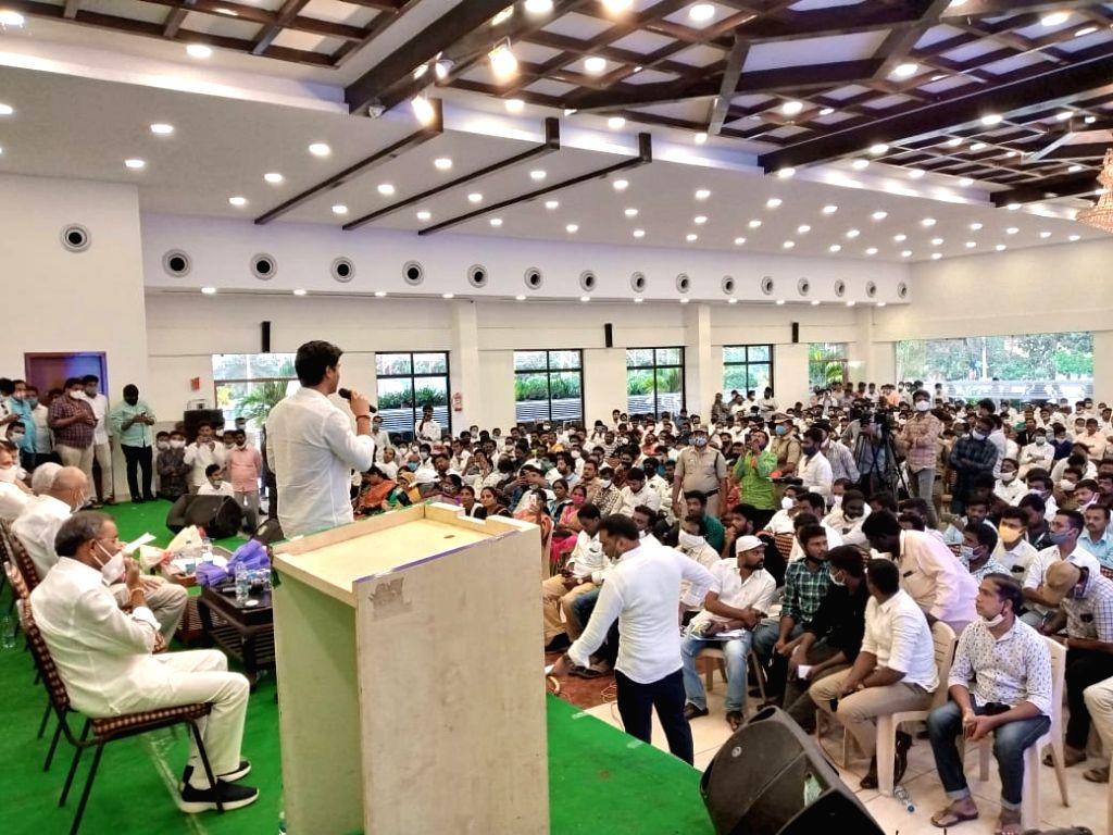 Naidu, TDP may fall into oblivion: YSRCP MP Vijaysai Reddy. - Vijaysai Reddy